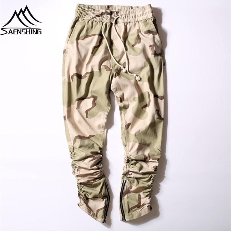 Hot! Men Outdoor Hiking Pants Desert Camouflage Elastic Trousers Military Urban Tactical Camo Cargo Pants Casual Hiphop Clothing(China (Mainland))