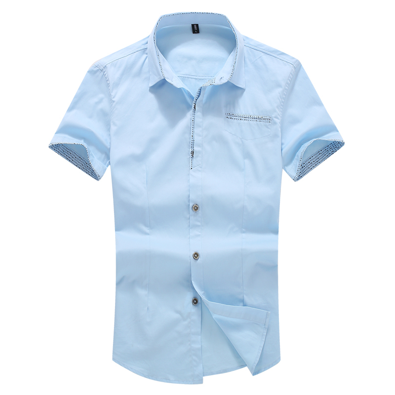 2015 Hot Sale Solid Camisa Shirts Mens Short Sleeve Shirt Dress Business And Occupation Moral Work Clothes Short Sleeve ShirtОдежда и ак�е��уары<br><br><br>Aliexpress