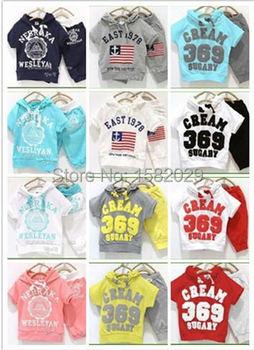 Лето девочки мальчики крем 369 дети одежда комплект младенцы одежда короткая - рукав ...