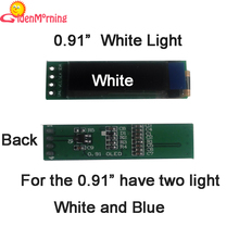 """1 PCS air post free shipping  0.91"""" OLED display module, 128 x 32 px resolution, white characters in black background, 14-pin(China (Mainland))"""