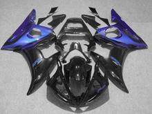 Injection mold Fairing kit YAMAHA YZFR6 03 04 05 YZF R6 2003 2004 2005 YZF600 ABS blue black Fairings Set+7gifts YG07 - FAIRING KIT Co. Ltd store