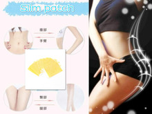10 pcs/lot healthy beauty Diet Detox Adhesive  Health Slimming New  Effective Lose weight Slim Patch Sheet Navel Paste