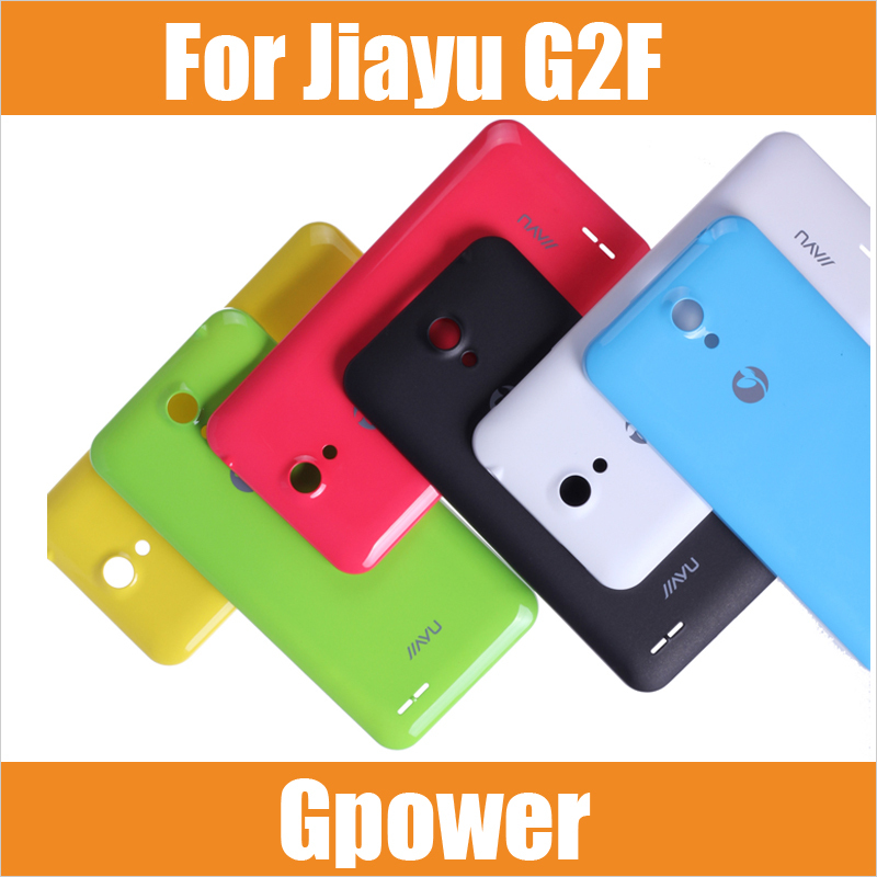 100% Original Jiayu G2F Back Cover Battery Protective Case Mobile Phone Black White Blue Green Yellow Red/ Laura - Gpower Technology Co., Limited store