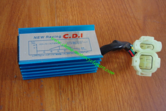 High performance racing AC fired CDI unit (no rev limit) for Scooter GY6 50 GY6 125 GY6 150 139QMB 152QMI 157QMJ(China (Mainland))