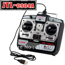 6CH RC Simulator JTL-0904A real flight helicopter simulator two mode with with CD disk(China (Mainland))