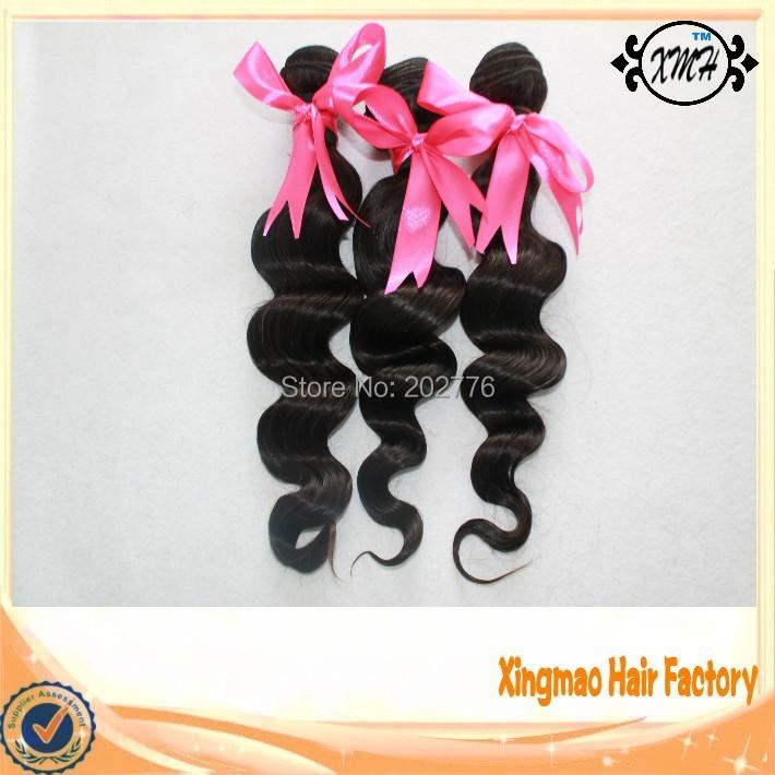 Free Shipping Unprocessed Peruvian Virgin Hair Extension Loose Wave 3pcs Wholesale Peruvian Human Hair Cheap Human Hair Weave<br><br>Aliexpress