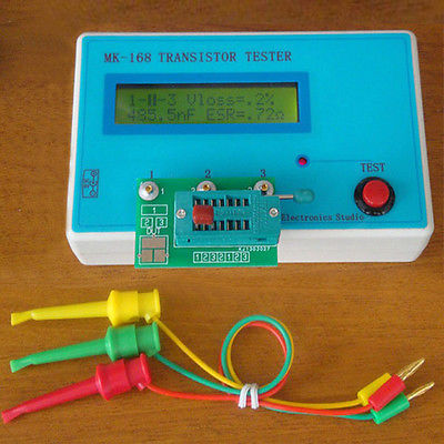 Brand New 1Pcs Diode Triode Capacitance ESR resistance Meter MOS PNP NPN Free Shipping