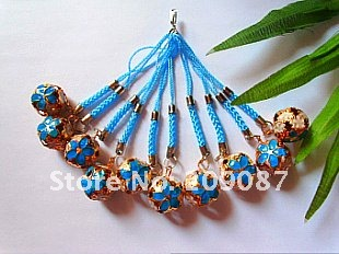 Lots 300pc Unique Phone CHARM new bells Mobile Charms straps Cellphone strap BEADS Straps(China (Mainland))