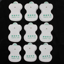 Health Care 20pcs lot NEW White Electrode Pads For Tens Acupuncture Digital Therapy Machine Slimming Massager