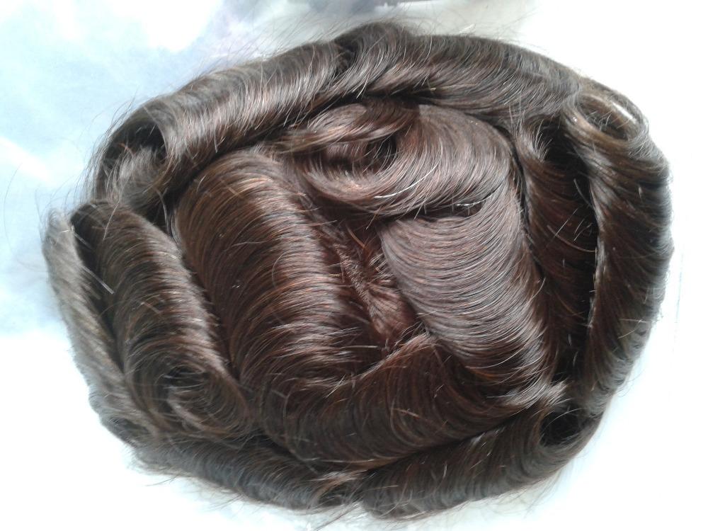 Human Hair Toupee Manufacturers 120
