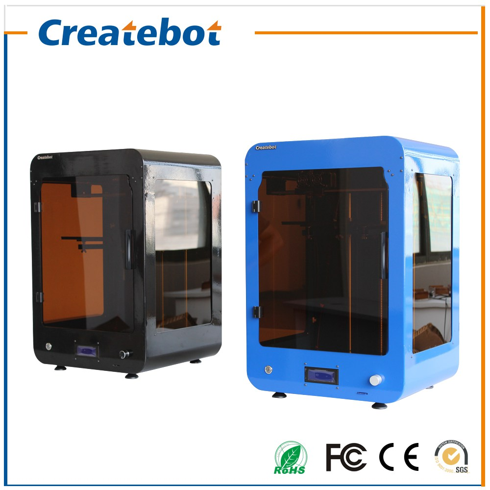 Createbot High Speed High Accuracy Stabler Performance Max 3D Printer Good Quality 3D Professional Maufacturers in China(China (Mainland))