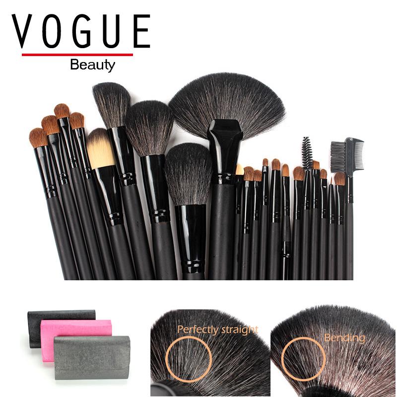 22 Pcs/set Natural Animal Hair Goat Hair Makeup Brush Professional Cosmetic Makeup Brush Set Foundation Powder Eyeliner Brushes(China (Mainland))