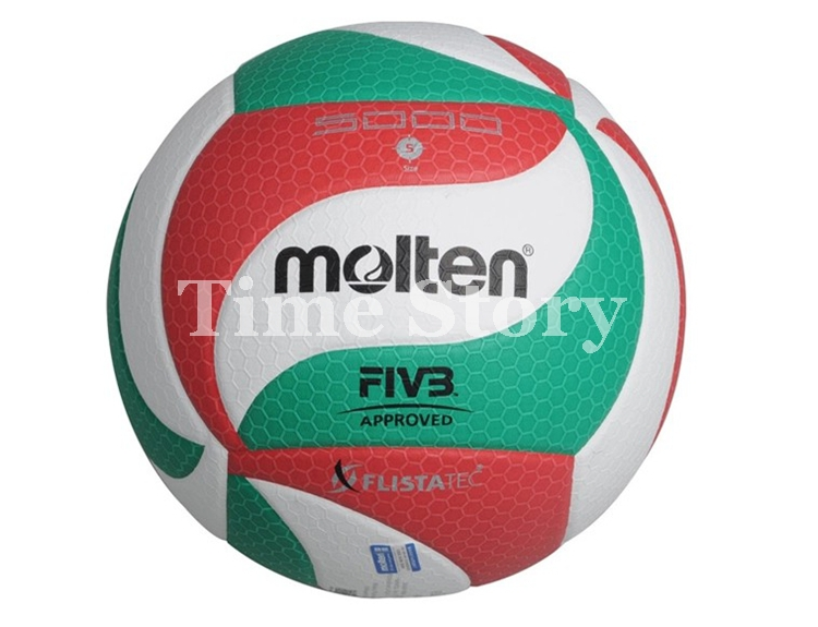 Free Shipping Brand New PU Soft Touch Ball Official Size 5 Molten V5M5000 Volleyball Ball Indoor & Outdoor Training Match Balls(China (Mainland))