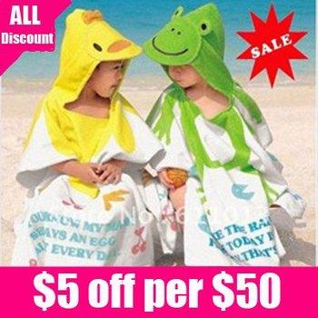 Free shipping new design 60*120CM cartoon beach baby body towel  children Blankets Bath towels kids washcloth 1pcs