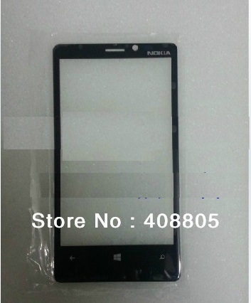 for Nokia Lumia 920 N920 out glass lens( NO LCD or Toch screen digitizer) Black Color(China (Mainland))