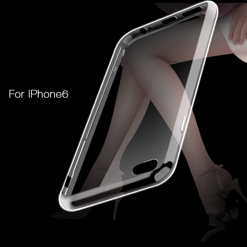 I6 I6 Plus Ultra thin 0 3mm Transparent Clear Case For iPhone 6 Plus 5 5Inch