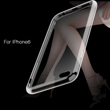 2Pcs/L $0.99 Ultra-Thin Crystal Clear Case For Apple iPhone 6 Plus 5.5 Inch Soft Cover for iphone6 4.7 TPU Material High Quality