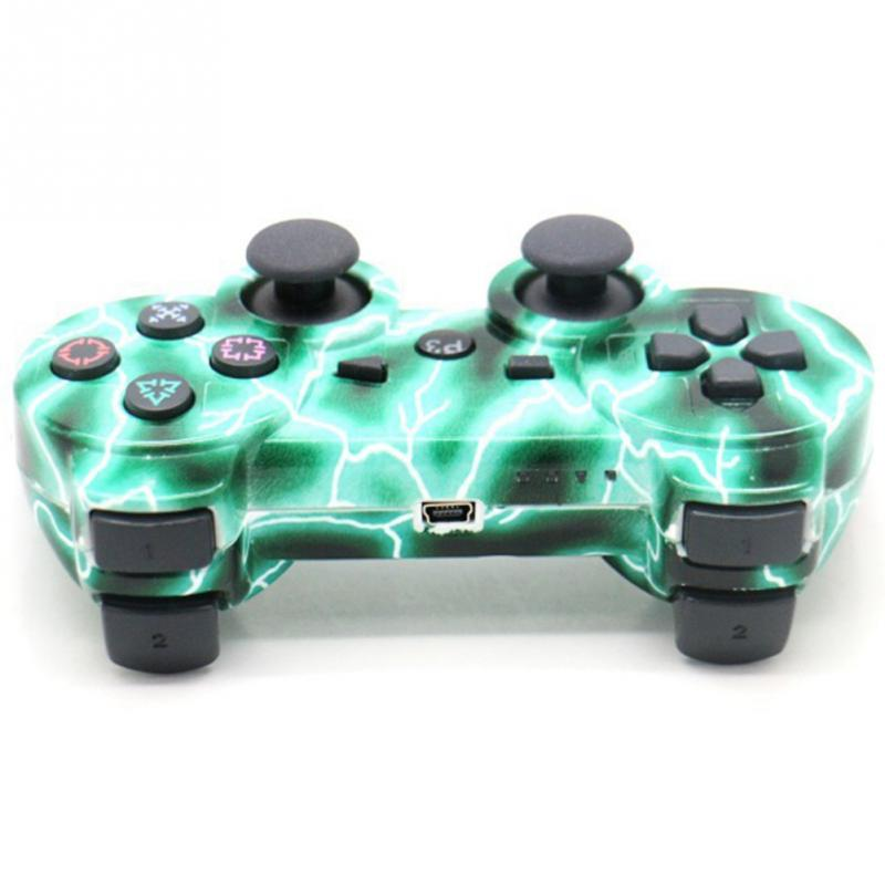 2016 New Design Electric Current Wireless Controller for Sony Playstation 3 For PS3 six axis controller(China (Mainland))