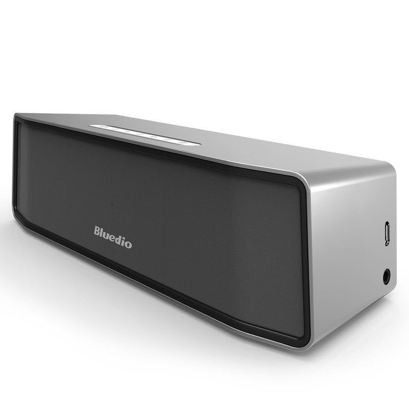 Bluedio BS-2 (Camel) Mini Bluetooth speaker Portable Wireless speaker Sound System 3D stereo Music surround(silver)(China (Mainland))