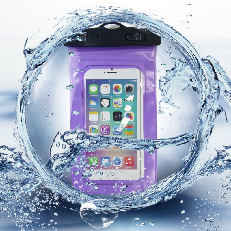 Waterproof Mobile Phone Bags with Strap Dry Cover for Huawei for Xiaomi for iPhone 6 5S SE 6S Plus Swimming Cases drift(China (Mainland))