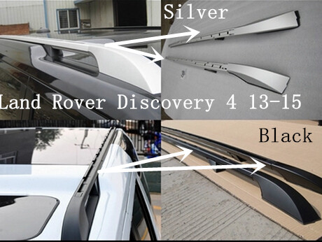 2pcs/lot Aluminium Alloy OEM Type Roof Rack Side Rails Bars Luggage Carrier FOR Land Rover Discovery 4 /LR4 2013 2014 2015(China (Mainland))