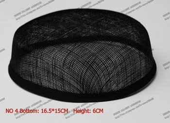 16.5*15 cm Vintage Sinamay Pillbox Base For DIY Fascinator,Headwear,Headpirce 2 Layers 10pcs/lot #3 Color