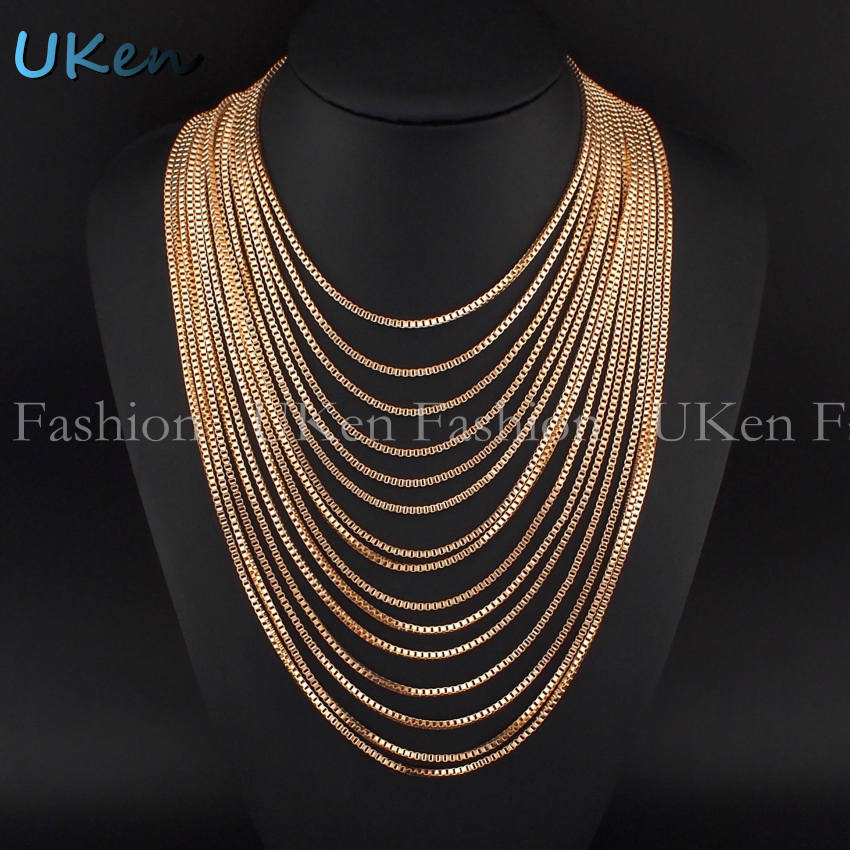 Hot Sale Female Multi Layers Gold Chain Necklaces Fashion Wide Pendants Statement Necklaces Women Dress Accessories Collares(China (Mainland))