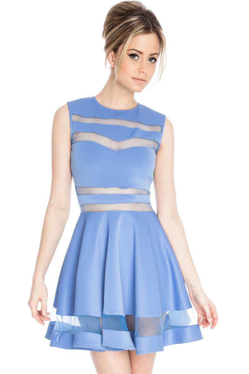 Blue Dress For Women