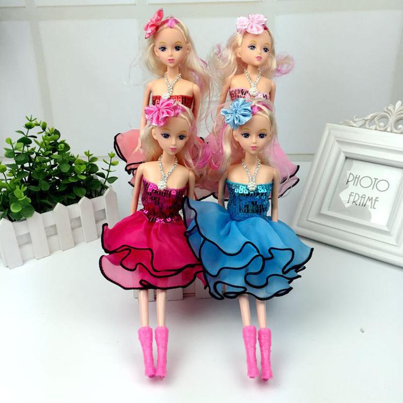 1pcs30cm Confused doll gift mini girl dolls Fashion Popular dolls plastic girl gift dolls toys Free shipping(China (Mainland))