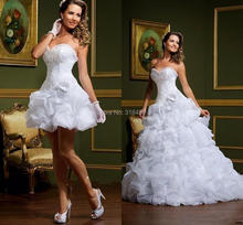 2 in 1 Bridal Gown feat. Removable Skirt