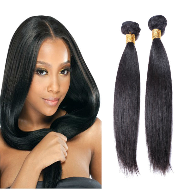 Cambodian Straight virgin hair human hair weaves 8-30inch Cambodianvirgin hair 3 bundles lot  human hair extension free shipping