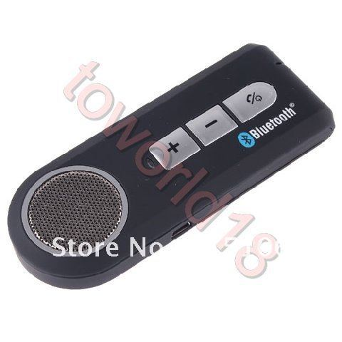 New Car Kit Bluetooth Handsfree Speaker For Cell Phone(China (Mainland))