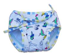 Unisex Baby Sticky Double Insurance Waterproof Leakproof Swimming Trunks Infant Swimwear