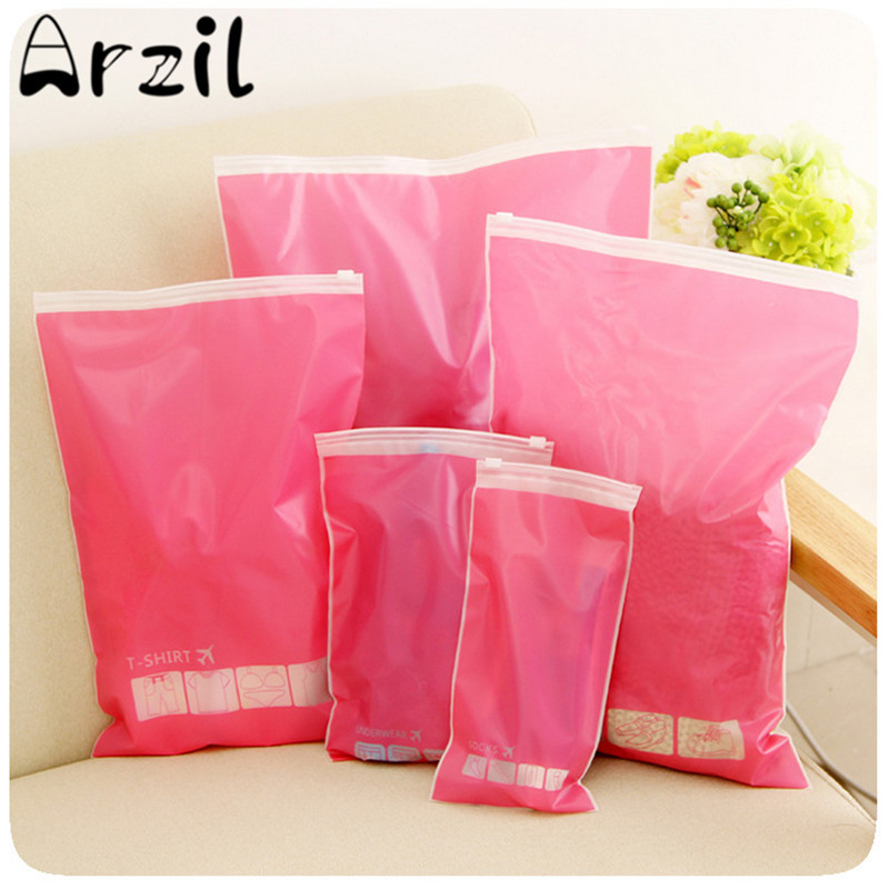 10Pcs PVC Clear Travel Storage Bag Pouch Waterproof Clothes Shoes Underwear Storage Holder Household Travel Storing Accessories(China (Mainland))