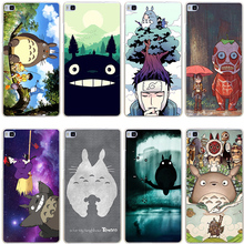 Buy Lavaza cartoon My Neighbor Totoro Hard Transparent Cover Case for Huawei P10 P9 Lite Plus P8 Lite P7 6 G7 & Honor 8 Lite 4C 4X 7 for $1.23 in AliExpress store