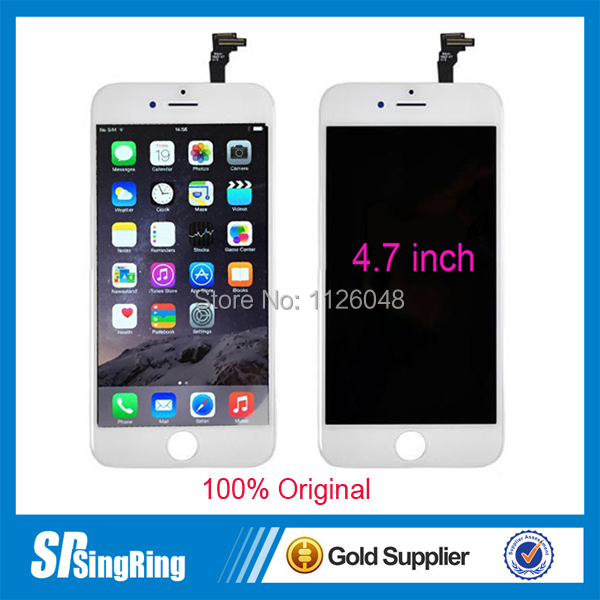 LCD for iPhone 6 4.7 inch Touch Screen Panel Digitizer Full Clone Dispalay Assembly Replacement(China (Mainland))