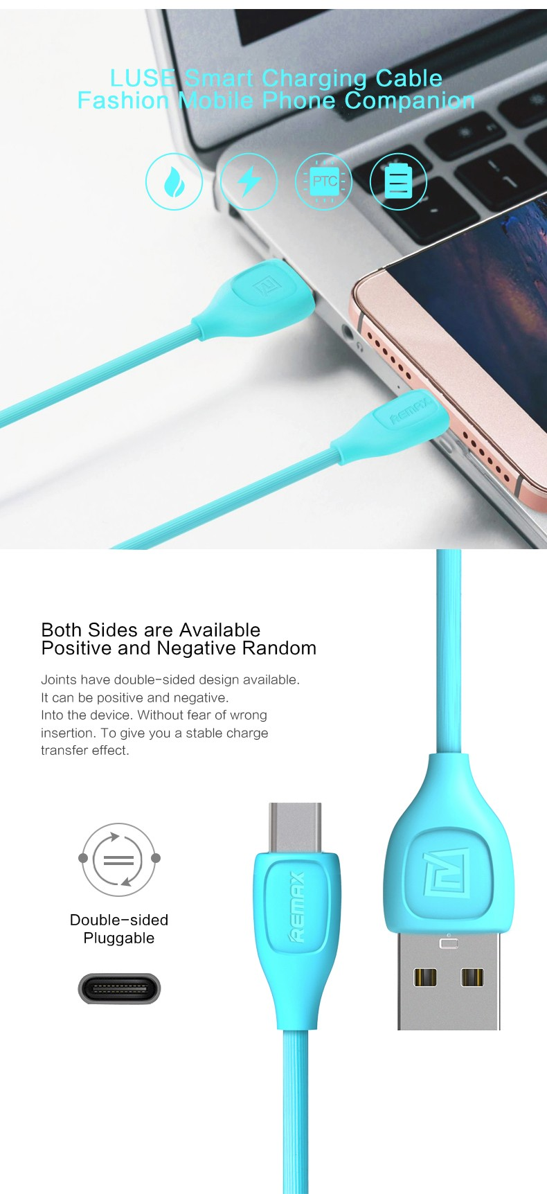 1M Original Remax Fast Charging Flat Noodle Type C usb type-c Charge Cables for Samsung Huawei Xiaomi 5 Oneplus LG Nexus 5x letv