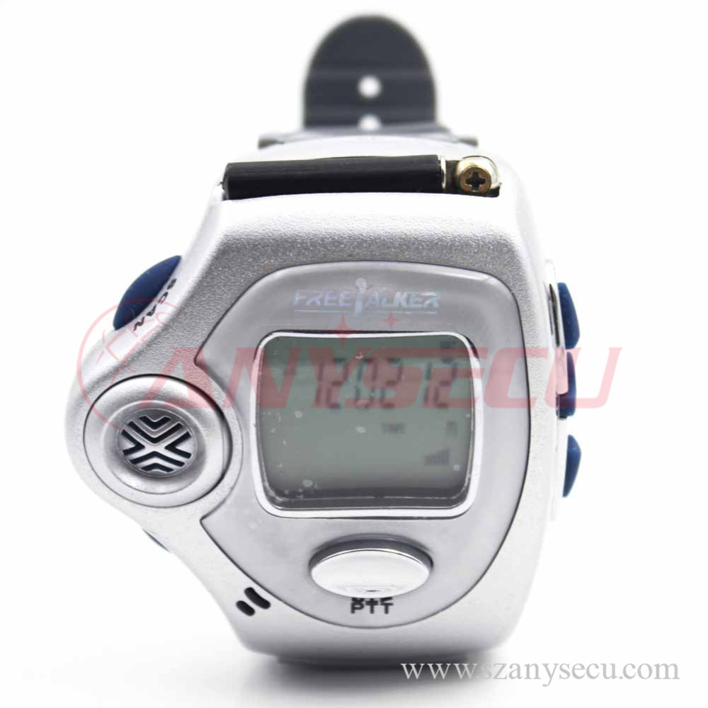 A pair multicolor mini walkie talkie watch RD-820 wristwatch 2 way radio Multi Frequency optional(China (Mainland))