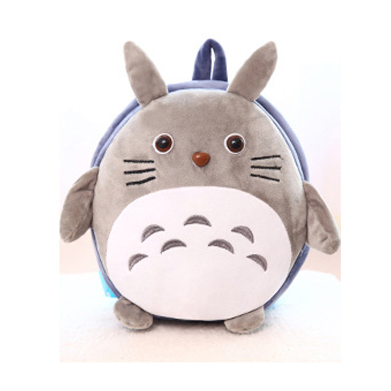2016 new fashion animal style school bag cute Totoro backpack children schoolbags for girls and boys in kindergarten(China (Mainland))