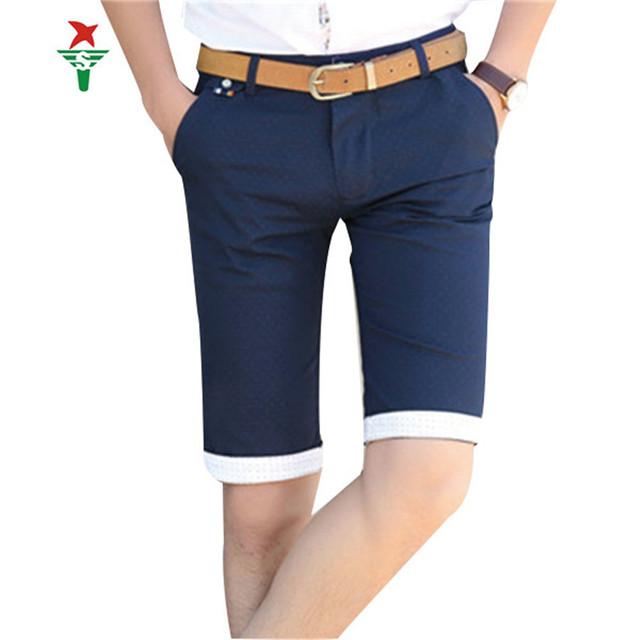 Новый полосатый точка твердые шорты мужчины 3 размер цвет 34 36 короткие Homme 2016 ...