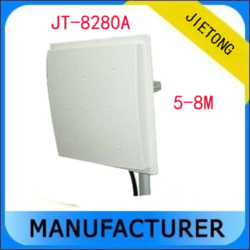 UHF RFID reader 5-8M Middle Range Reader+free sdk+5 free tags (RS232/RS485/WG26) Communication(China (Mainland))