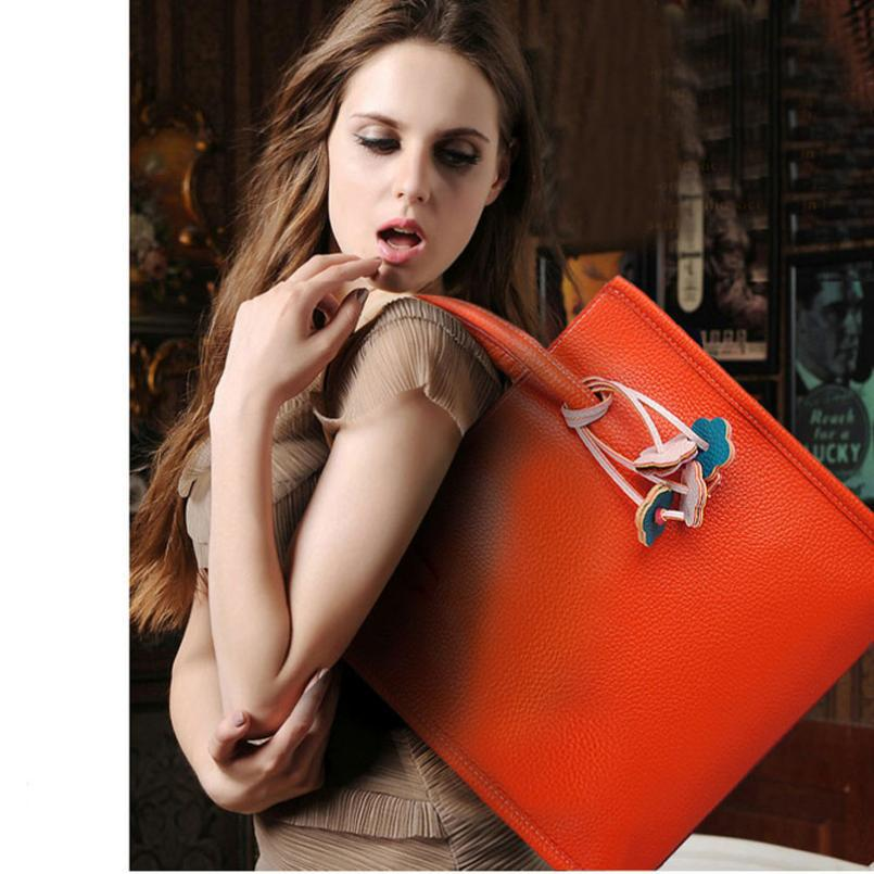 Popular women leather handbags  Celebrity Tote Handbag Shoulder Handbag Fashion<br><br>Aliexpress