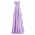 2016 New Chiffon Cheap Evening Dresses Long Formal Evening Dress For New Bride Sweetheart Prom Gowns