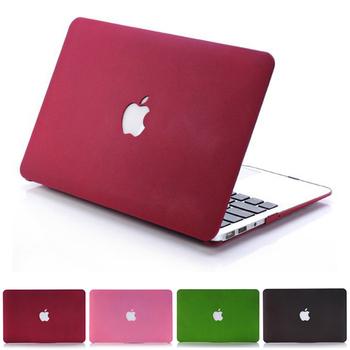Новый матовый чехол для Apple macbook Pro Retina 11 12 13 15 ноутбук сумка для Mac книги 11.6 13.3 15.4 дюймов с логотипом рождественские подарки