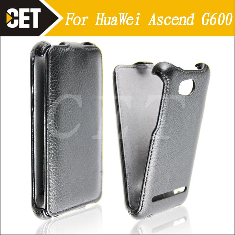 CHNLAN Huawei Ascend G600 Phone Case High Quality PU Leather Flip Case Cover For Huawei Ascend G600 U8950 U8950D Honor 2 U9508(China (Mainland))