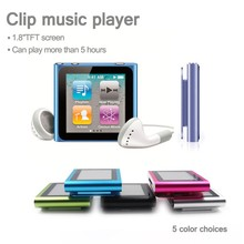 32GB 1.8 Inch 6rd gen mp4 player touch screen,mp4 player + gif soft bag,32gb 6th mp4 player fashionable clip mp4 player FM radio(China (Mainland))