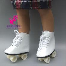"Botas de nieve Zapatos para 18 ""45 CM Muchachas Americanas Dolls, zapatos de patinaje de moda de deporte para Alexander muñeca niña accesorios de regalo(China (Mainland))"