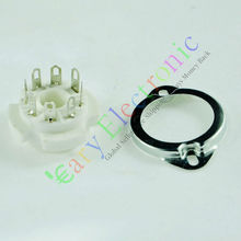Buy Wholesale and retail 8pcs 8pin Ceramic vacuum tube sockets valve base Fr EL34 6CA7 6550 KT88 6SN7 6L6 free shipping for $11.28 in AliExpress store