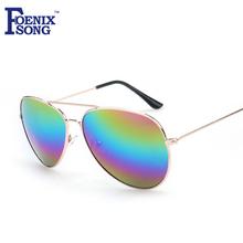 Buy FOENIXSONG Fashion Aviator Pilot Men Sunglasses Brand Sun Glasses Women Oculos De Sol Mirrored UV400 Eyewear Goggles Gafas for $3.19 in AliExpress store