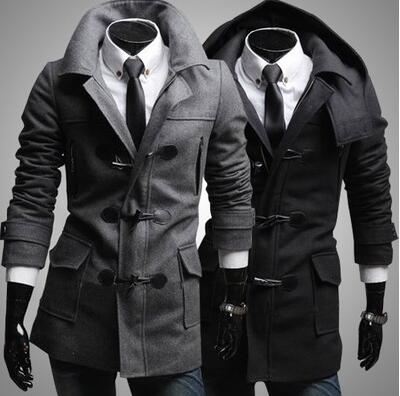 Online Get Cheap Mens Duffle Toggle Coat -Aliexpress.com | Alibaba
